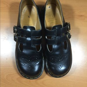 Dr. Martens black Mary Janes